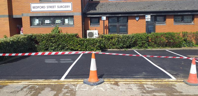 Image 2 - Tarmac carpark for our NHS with parking bays