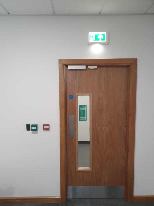 Image 3 - Paxton access control system in an office block to limited and control entry and exit.