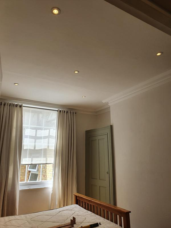 Image 28 - Bedroom downlights with cool white setting