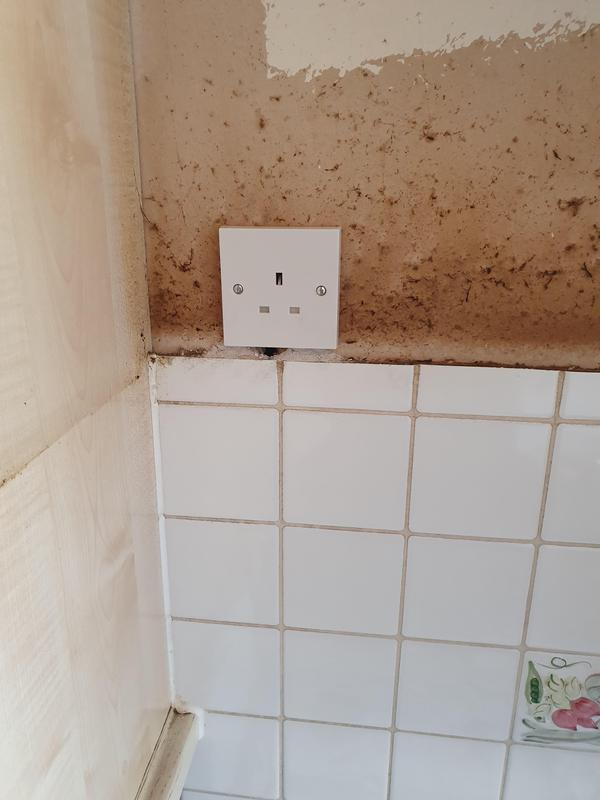 Image 8 - New socket for client's cooker hood