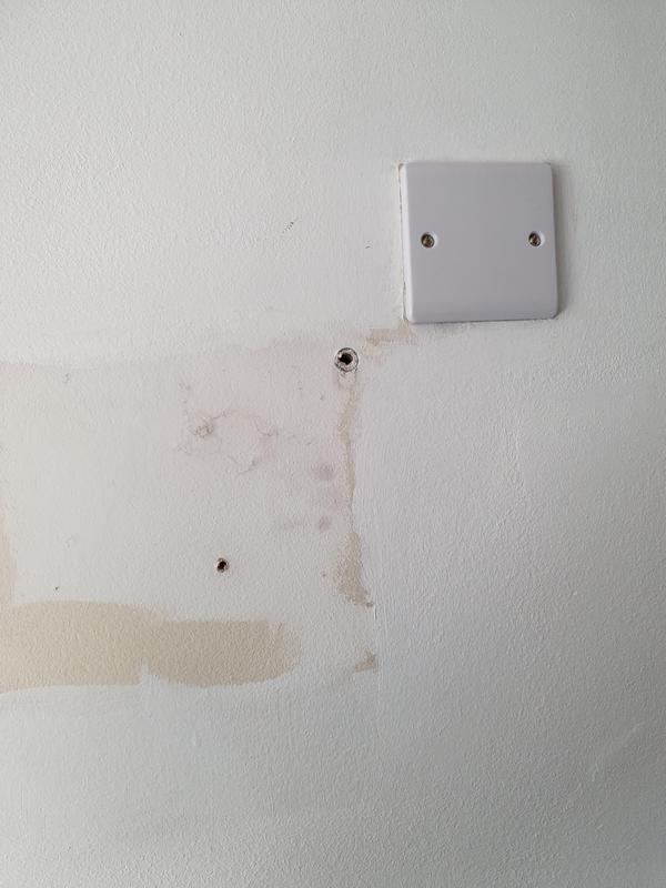 Image 53 - Changed 13a fused spur to a blank plate, as client requested to no longer having to use electric heater.