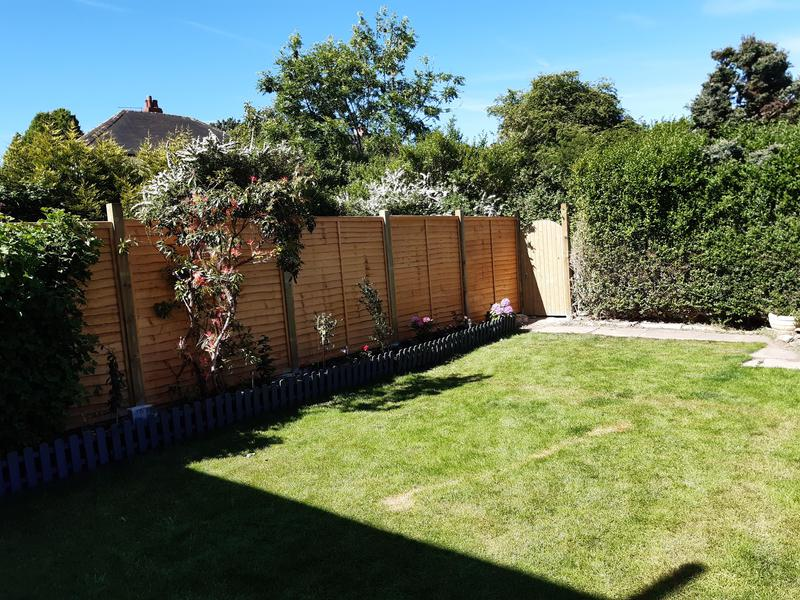 Image 1 - Fencing and garden gate to secret garden.