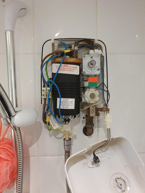 Image 19 - Emergency call out as faulty shower was tripping RCD.