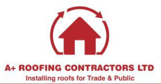 A+ Roofing Contractors logo