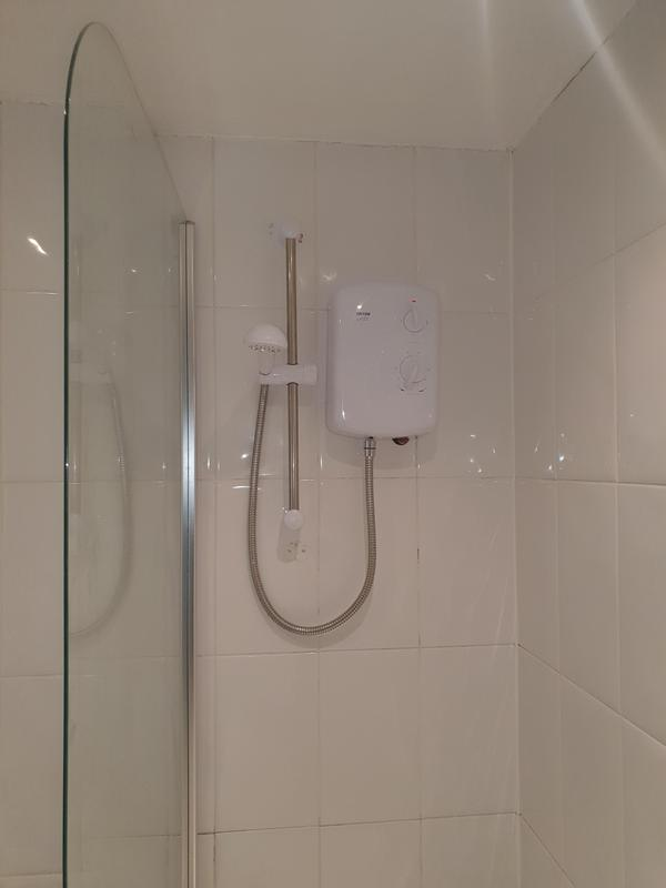 Image 44 - Fitted new electric shower which solved the issue client was facing