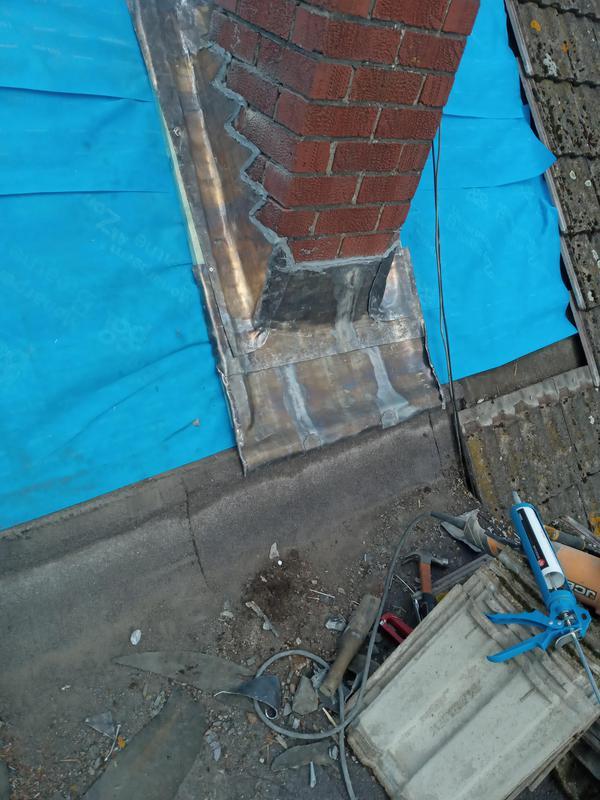 Image 18 - Leadwork around chimney