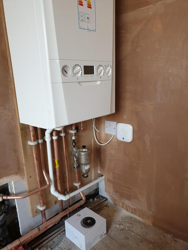 Image 1 - Boiler controls installed