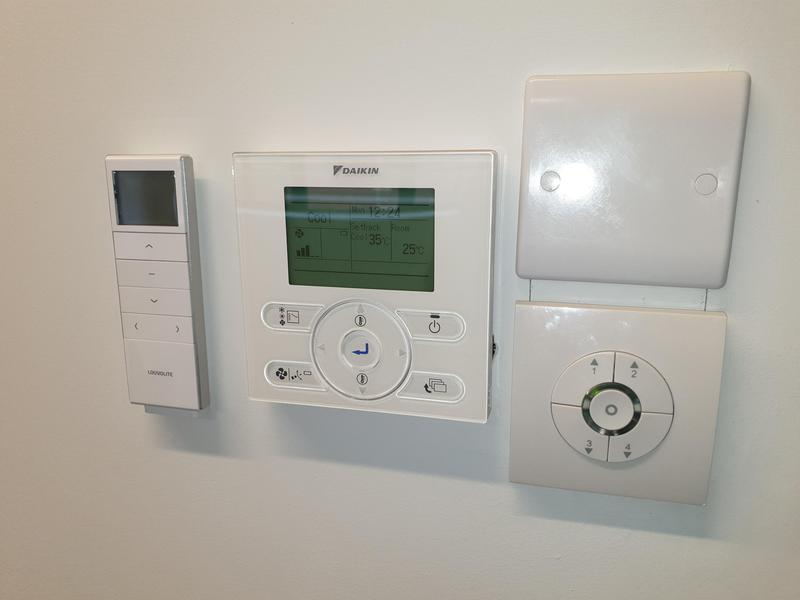 Image 27 - Louvolite Wireless remotes fits in perfectly beside other modern intelligent living controls.