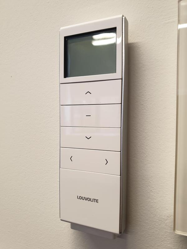 Image 28 - Our Louvolite 16 Channel remotes are stylish and even come with a magnetic back.