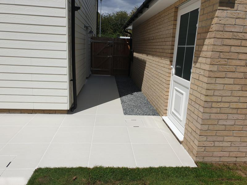 Image 6 - Sandy White Porcelain Patio