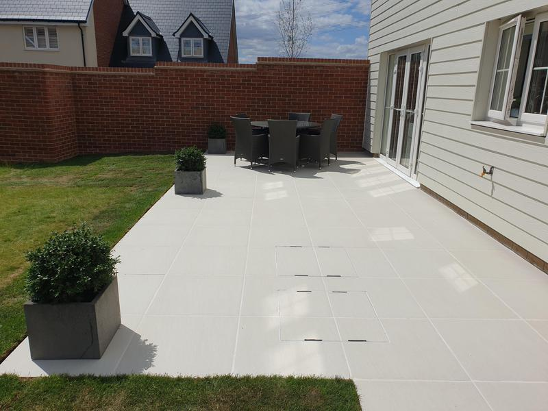 Image 1 - Sandy White Porcelain Patio