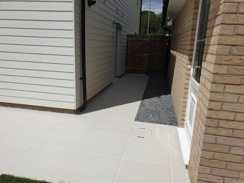 Image 11 - Sandy White Porcelain Patio