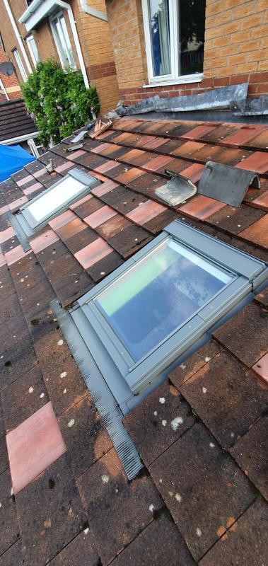 Image 28 - Old tiled roof