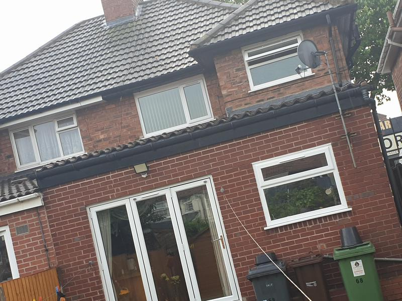 Image 62 - Customers extension transformed from Ludlow major tiles to the following picture above being .....