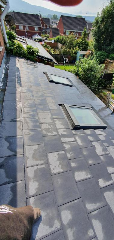 Image 27 - New tiled roof with new flashing kits