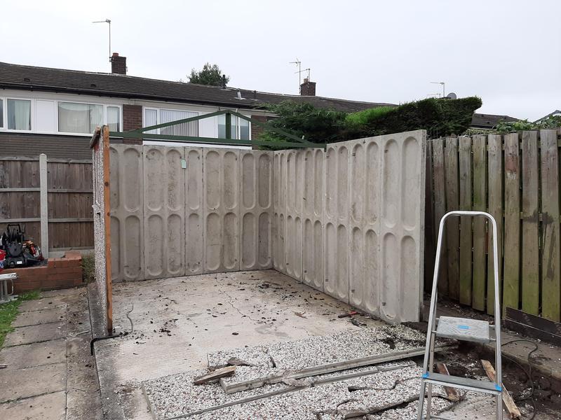 Image 11 - Picture showing demolition process.....