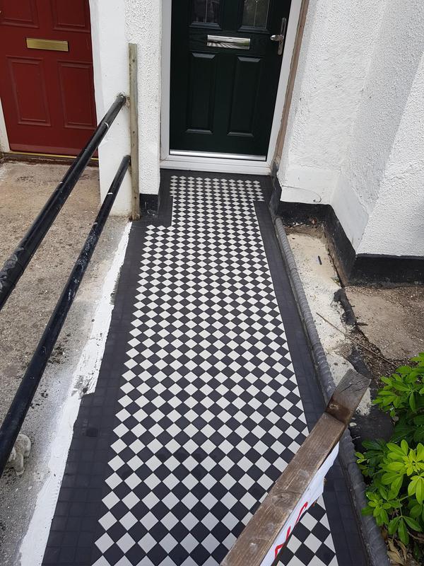 Image 5 - Path mosaic Victorian style