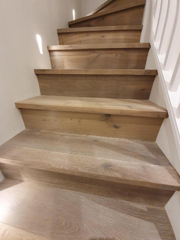 Image 12 - Stair cladding with custom made nousings