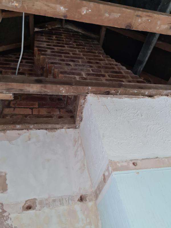 Image 5 - Chimney breast removal. Gallows brackets need to be installed.