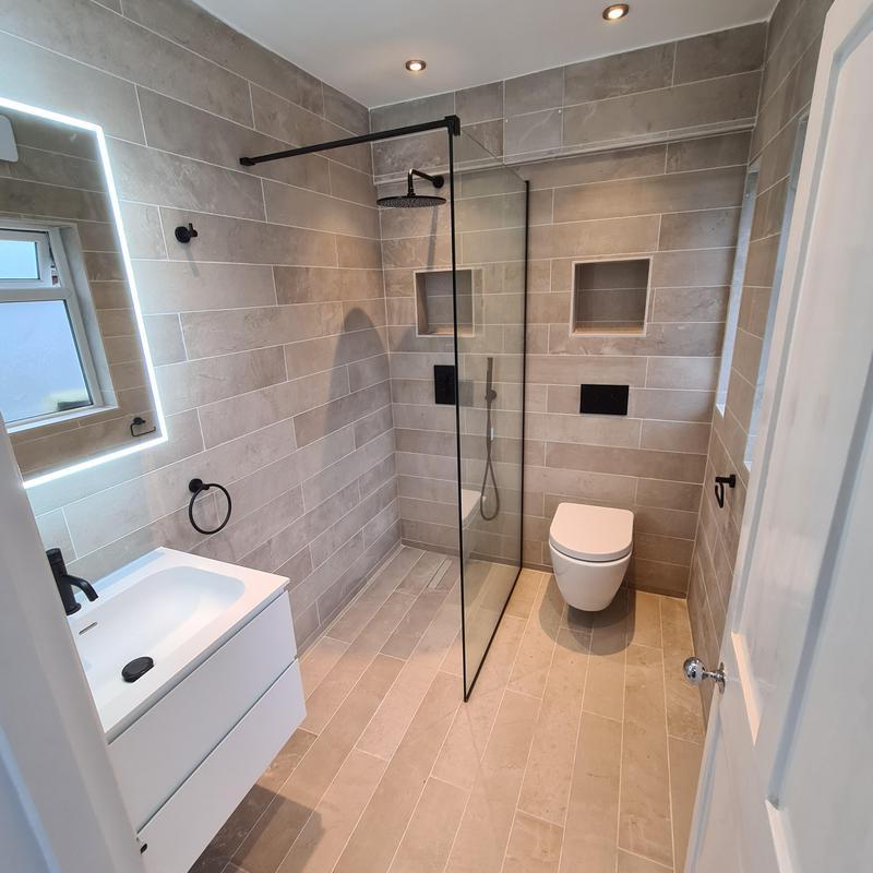 Image 39 - Full bathroom renovation