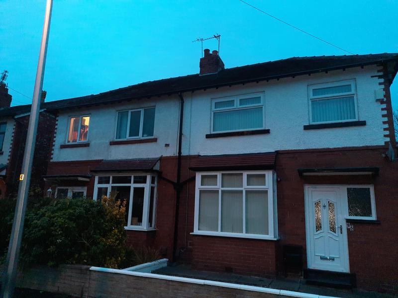 Image 19 - Both houses had front/side/rear gutters replaced. Old cast iron gutters and downpipes removed and new UPVC square gutters installed