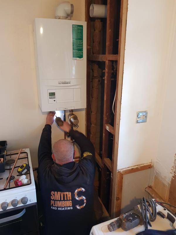 Image 1 - Another new boiler underway. Get your free quote today