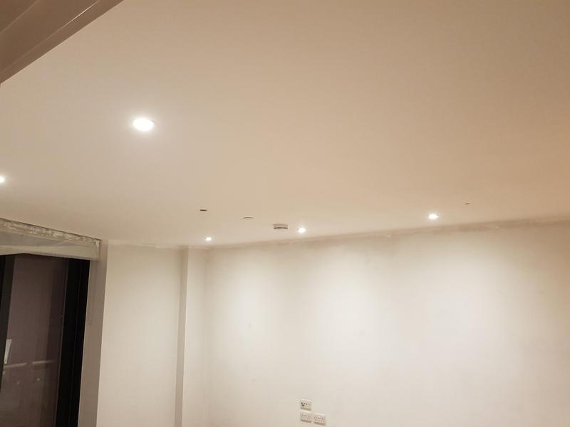 Image 4 - Clapham junction- Warm white LED downlights installed.