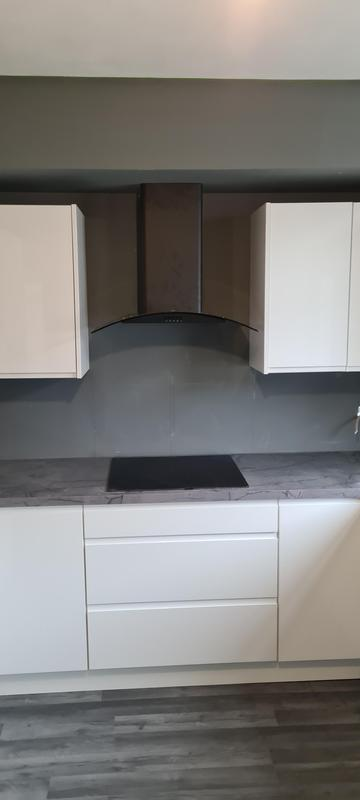 Image 2 - Wren kitchen installed, floor leveled and laminate floor fitted