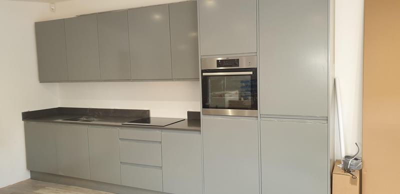 Image 1 - Showroom kitchen under installation