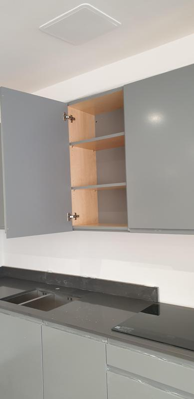 Image 5 - unit shelves edged with same colour as back of unit
