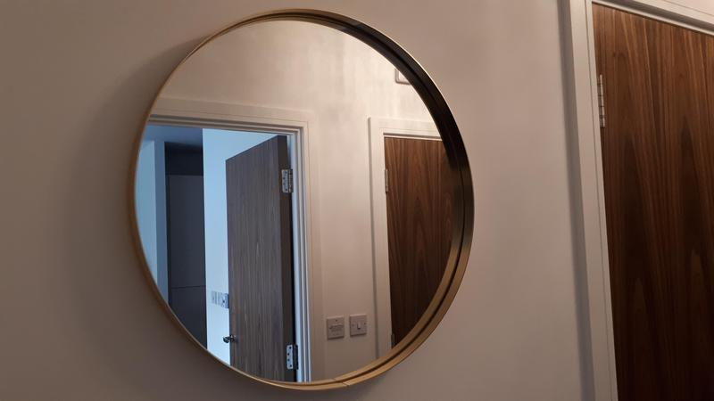 Image 7 - Hanging mirrors. Ensure you check what is behind the walls as you could be screwing into electric or pipes!