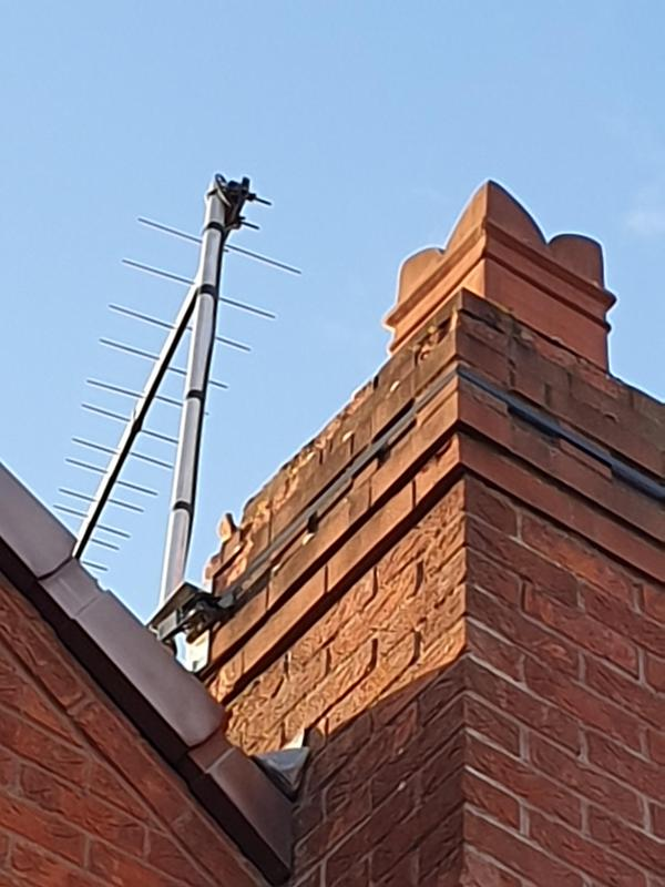 Image 3 - Chimney had to have new engineering bricks when we re built this chimney so far down, in picture you see how porous the bricks became and broke away