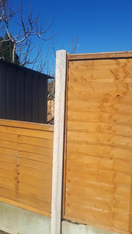 Image 1 - Replace broken concrete fence post