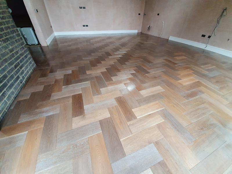 Image 1 - Engineered parquet flooring done