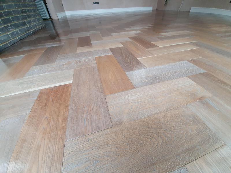 Image 2 - Engineered parquet flooring done