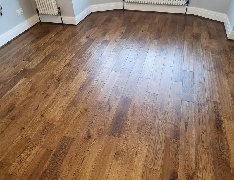 Image 3 - Solid wood flooring done