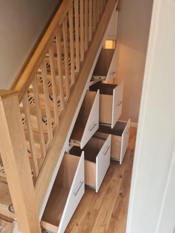 Image 2 - Understairs storage solutions