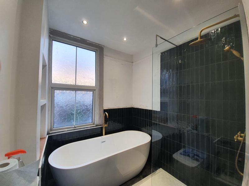 Image 28 - New LED firerated Downlights with new refurbishment bathroom.