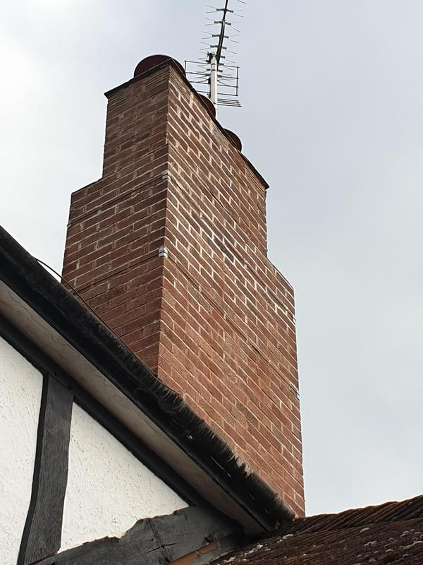 Image 5 - Chimney re pointed and lead flashing.