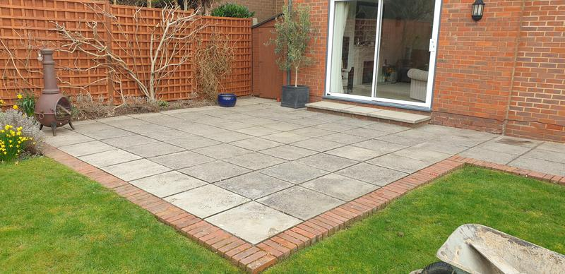 Image 5 - Patio before