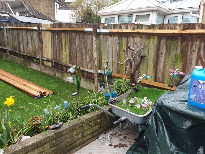 Image 5 - Refurbished fence.