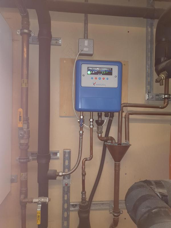 Image 14 - Heating water pressure inspection