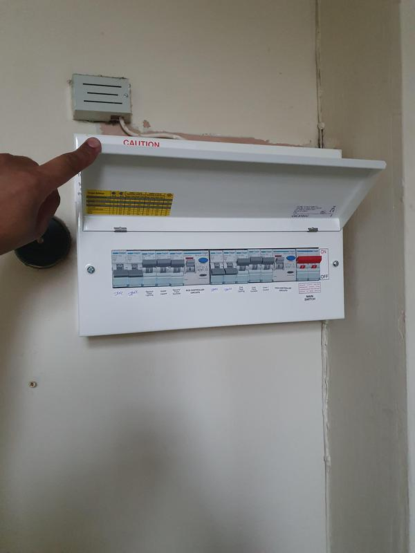 Image 11 - New upgraded consumer unit with satisfactory certificate