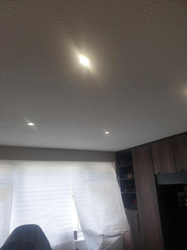 Image 5 - Ceiling spotlights in one of 6 rewired bedrooms