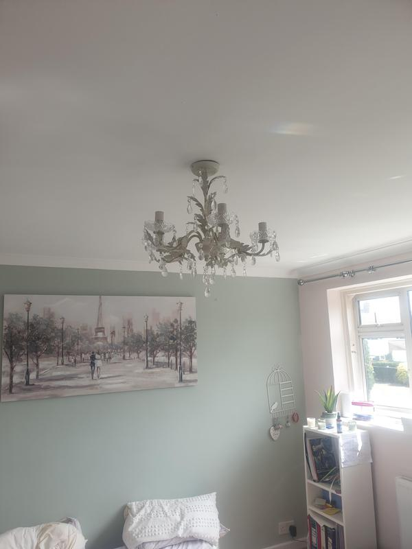 Image 4 - New lighting in another completed and rewired bedroom