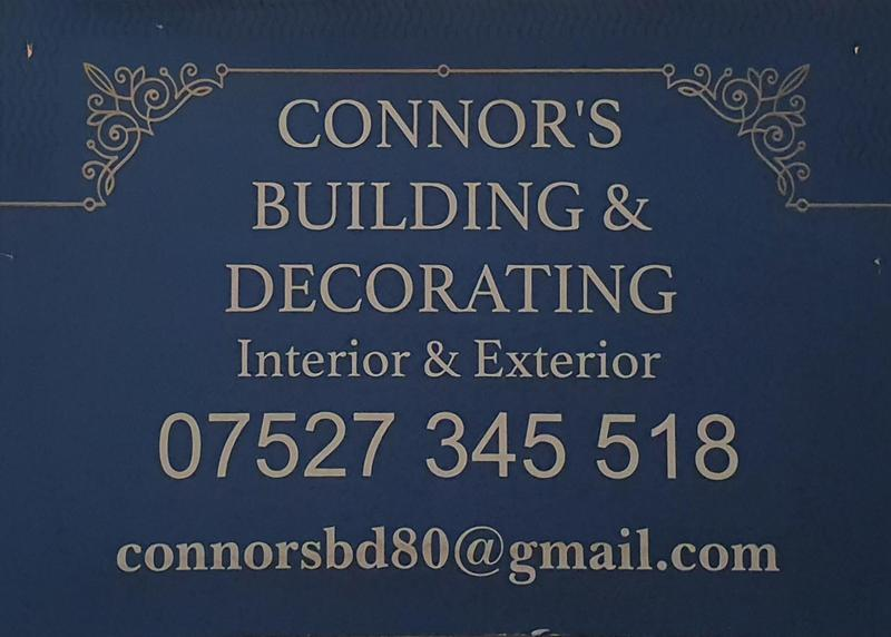 Connor's Painting & Decorating logo