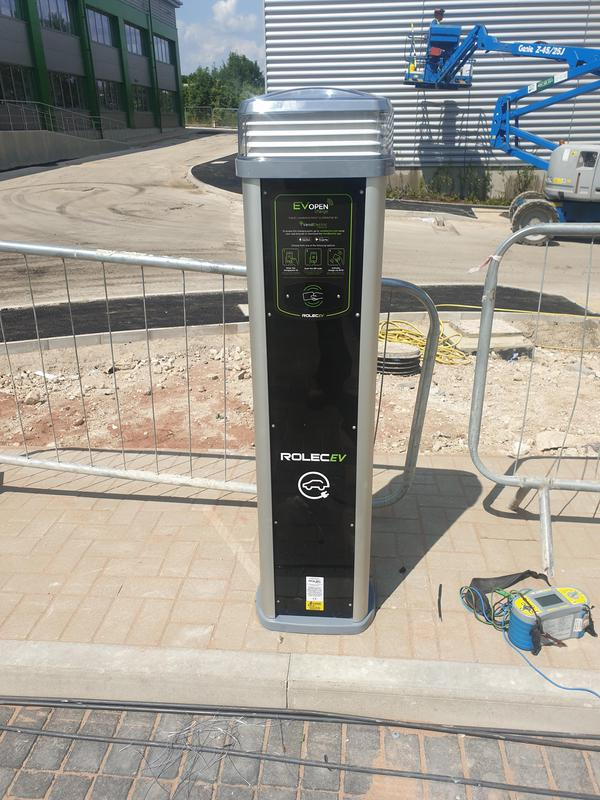 Image 1 - Electric vehicle charging point i installed, tested and commissioned