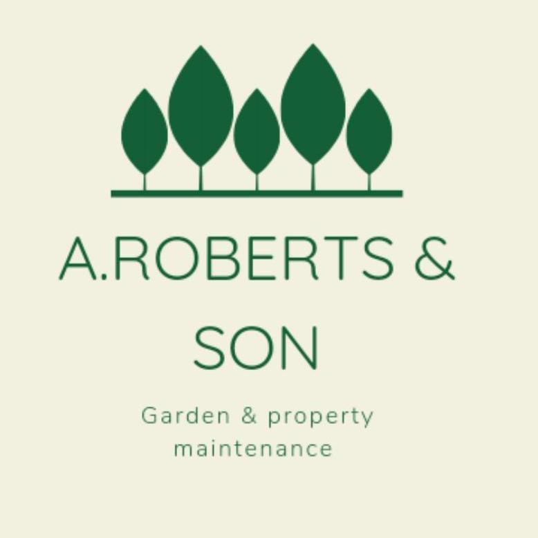 A Roberts & Son Garden and Property Maintenance logo