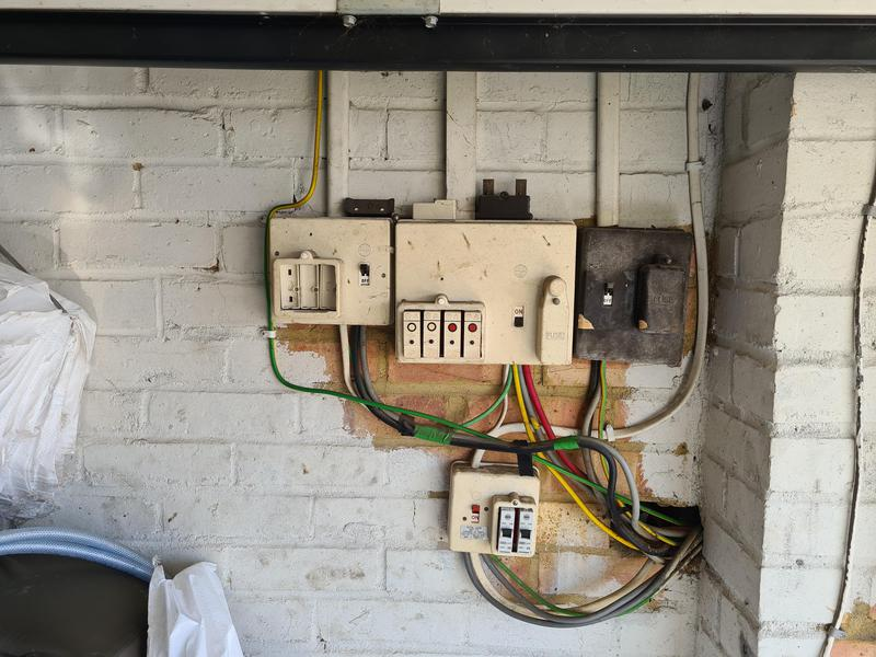 Image 4 - Due to an 'Unsatisfactory EICR these Fuse Boards required UPGRADING and condensed into 1 Consumer Unit
