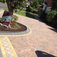 Image 29 - Block pave driveway with design